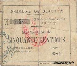 50 Centimes FRANCE régionalisme et divers  1915 JP.02-0160 TB