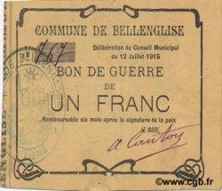 1 Franc FRANCE régionalisme et divers  1915 JP.02-0181 TTB