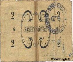 2 Francs FRANCE régionalisme et divers BELLICOURT 1915 JP.02-0188 TB