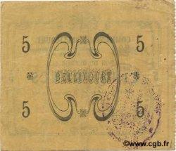 5 Francs FRANCE régionalisme et divers BELLICOURT 1915 JP.02-0195 TTB