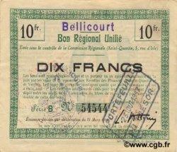 10 Francs FRANCE régionalisme et divers  1916 JP.02-0201.BRU TTB+