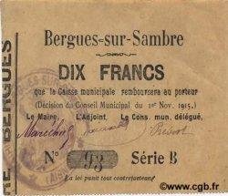 10 Francs FRANCE régionalisme et divers  1915 JP.02-0214 SUP+