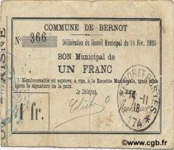 1 Franc FRANCE régionalisme et divers  1915 JP.02-0218 TB+