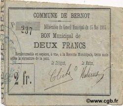 2 Francs FRANCE régionalisme et divers BERNOT 1915 JP.02-0224 TTB