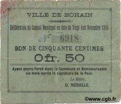 50 Centimes FRANCE régionalisme et divers  1914 JP.02-0247 TB+