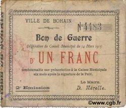 1 Franc FRANCE régionalisme et divers  1915 JP.02-0255 TB+
