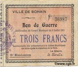 3 Francs FRANCE régionalisme et divers  1915 JP.02-0273 TTB+