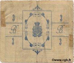 3 Francs FRANCE régionalisme et divers BOHAIN 1915 JP.02-0279 TTB