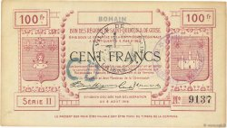 100 Francs FRANCE régionalisme et divers  1916 JP.02-0284.SQG SUP