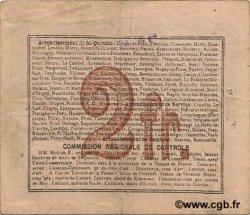 2 Francs FRANCE régionalisme et divers  1916 JP.02-0321.SQG TTB
