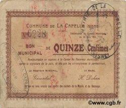 15 Centimes FRANCE régionalisme et divers  1915 JP.02-0395 TB