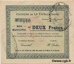 2 Francs FRANCE régionalisme et divers  1915 JP.02-0399 SPL