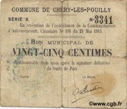 25 Centimes FRANCE régionalisme et divers  1915 JP.02-0487 TB