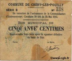 50 Centimes FRANCE régionalisme et divers  1915 JP.02-0488 TTB