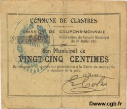 25 Centimes FRANCE régionalisme et divers  1915 JP.02-0516 TB