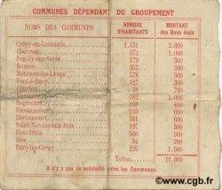 1 Franc FRANCE régionalisme et divers  1915 JP.02-0538 TTB