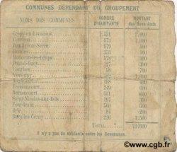 2 Francs FRANCE régionalisme et divers CREPY EN LAONNOIS 1915 JP.02-0539 TB