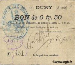 50 Centimes FRANCE régionalisme et divers  1915 JP.02-0606 TB+