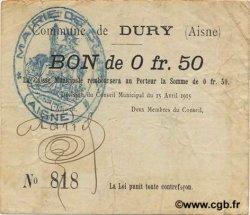 50 Centimes FRANCE régionalisme et divers  1915 JP.02-0613 TTB