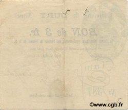 3 Francs FRANCE régionalisme et divers  1915 JP.02-0616 TTB