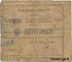 10 Centimes FRANCE régionalisme et divers ERLOY 1915 JP.02-0631 TB