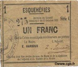 1 Franc FRANCE régionalisme et divers  1915 JP.02-0662 TTB