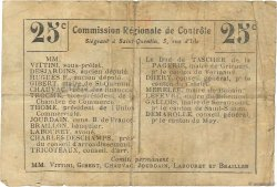 25 Centimes FRANCE régionalisme et divers ESSIGNY LE GRAND 1916 JP.02-0678.BRU TB