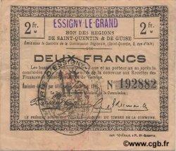 2 Francs FRANCE régionalisme et divers ESSIGNY LE GRAND 1916 JP.02-0679.SQG TTB