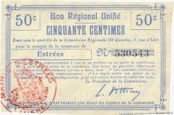 50 Centimes FRANCE régionalisme et divers  1916 JP.02-0699.BRU TTB
