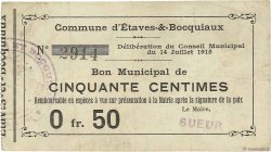 50 Centimes FRANCE régionalisme et divers ETAVES ET BOCQUIAUX 1915 JP.02-0723 TB+