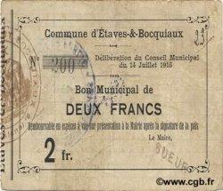 2 Francs FRANCE régionalisme et divers  1915 JP.02-0725 TTB