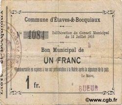 1 Franc FRANCE régionalisme et divers  1915 JP.02-0726 TB