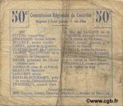 50 Centimes FRANCE régionalisme et divers  1916 JP.02-0732.BRU TB