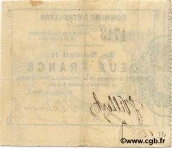 2 Francs FRANCE régionalisme et divers ETREILLERS 1915 JP.02-0758 TTB