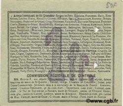 1 Franc FRANCE régionalisme et divers ETREUX 1916 JP.02-0773.SQG TTB