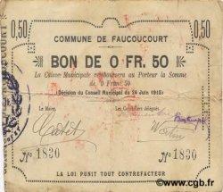 50 Centimes FRANCE régionalisme et divers  1915 JP.02-0778 TB
