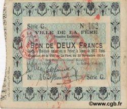 2 Francs FRANCE régionalisme et divers  1914 JP.02-0785 TTB