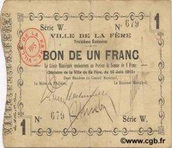 1 Franc FRANCE régionalisme et divers FERE (LA) 1915 JP.02-0800 TTB