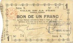 1 Franc FRANCE régionalisme et divers FERE (LA) 1915 JP.02-0800 TB+