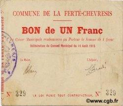 1 Franc FRANCE régionalisme et divers  1915 JP.02-0825 TTB