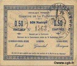 50 Centimes FRANCE régionalisme et divers FLAMENGRIE (LA) 1915 JP.02-0844 TTB