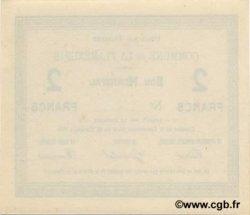 2 Francs FRANCE régionalisme et divers FLAMENGRIE (LA) 1915 JP.02-0846 pr.NEUF