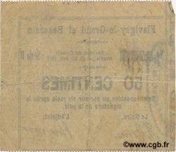 50 Centimes FRANCE régionalisme et divers FLAVIGNY LE GRAND ET BEAURAIN 1914 JP.02-0861 TTB