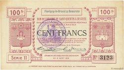 100 Francs FRANCE régionalisme et divers FLAVIGNY LE GRAND ET BEAURAIN 1915 JP.02-0875.SQG SUP