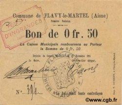 50 Centimes FRANCE régionalisme et divers FLAVY LE MARTEL 1915 JP.02-0896 SUP