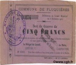 5 Francs FRANCE régionalisme et divers  1915 JP.02-0913 TTB+