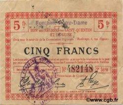 5 Francs FRANCE régionalisme et divers FONTAINE NOTRE DAME 1917 JP.02-0943.SQG TTB