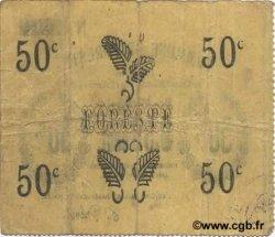 50 Centimes FRANCE régionalisme et divers FORESTE 1915 JP.02-0983 TTB