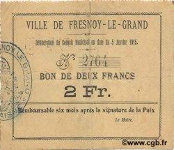 2 Francs FRANCE régionalisme et divers  1915 JP.02-0995 TTB