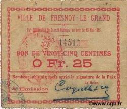 25 Centimes FRANCE régionalisme et divers  1915 JP.02-1000 TB+